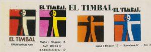 El Timbal, 50 anys i molts vides. 1969-2019