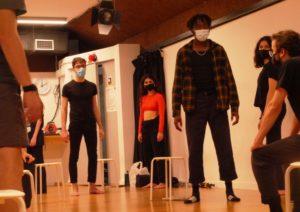 Parets de vidre, nou taller de creació, escola de teatre, el timbal